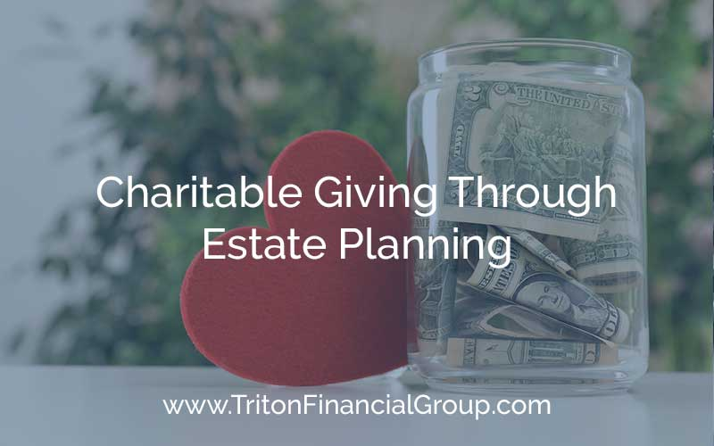 Charitable Giving through Estate Planning