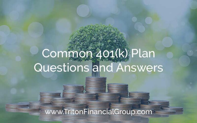 Common 401(k) Plan Questions and Answers