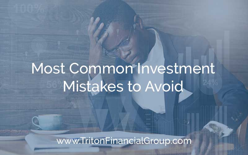 5 Most Common Investment Mistakes to Avoid