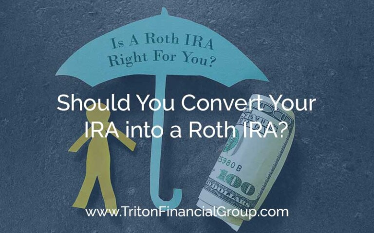 Should You Convert Your IRA into a Roth IRA?