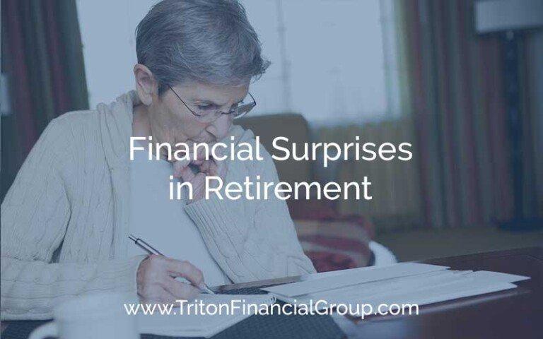 Financial Surprises in Retirement