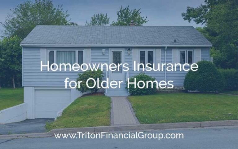 Homeowners Insurance for Older Homes