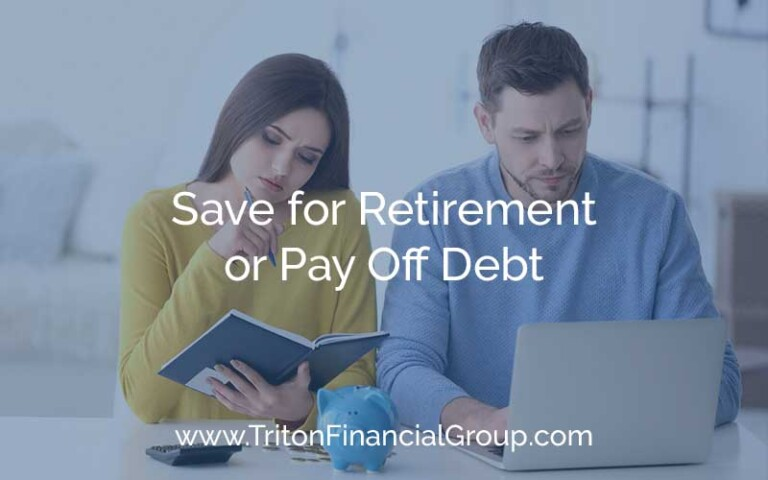 Save for Retirement or Pay Off Debt