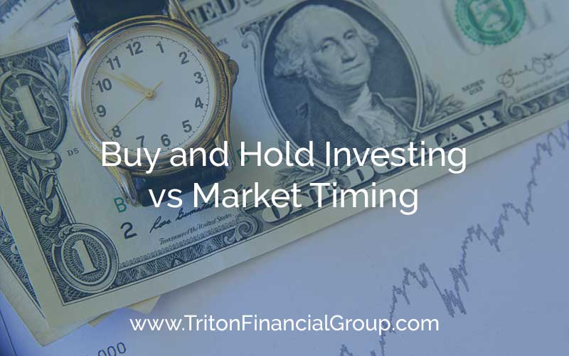 Never try to time the market